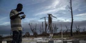 La tormenta tropical Humberto azota el noroeste de las Bahamas