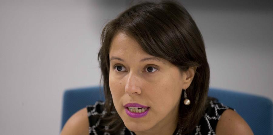 Eva Prados, portavoz del Frente Ciudadano por la Auditoría. (GFR Media) (horizontal-x3)