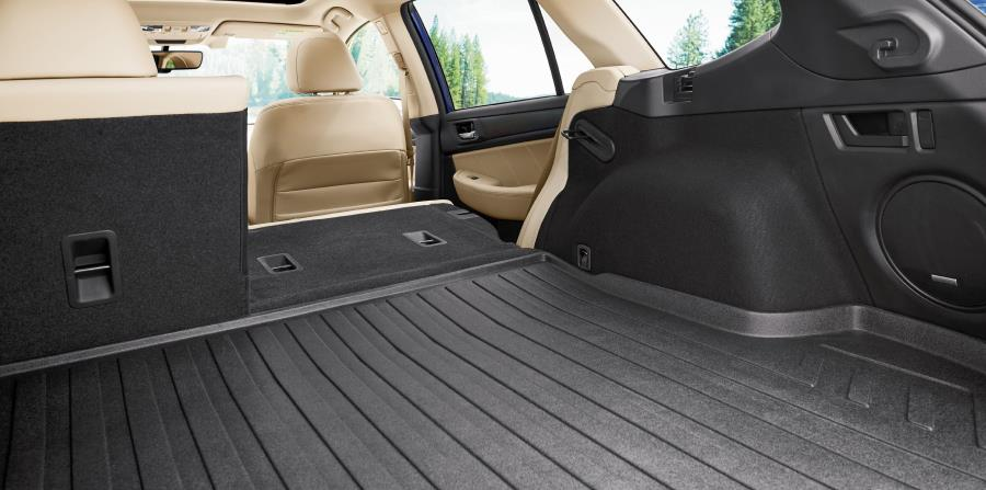 El Subaru Outback tiene gran espacio en su baúl. (Suministrada)