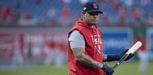 Yadier Molina se resiste a tirar la toalla ante los Nationals