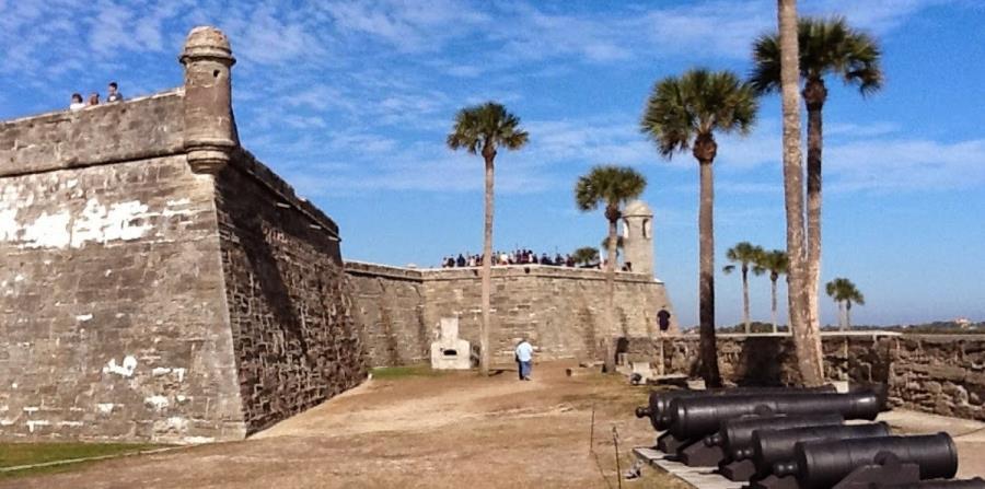 El Castillo de San Marcos guarda un parecido evidente con el   Castillo San Felipe de El Morro, de San Juan. (Suministrada)
