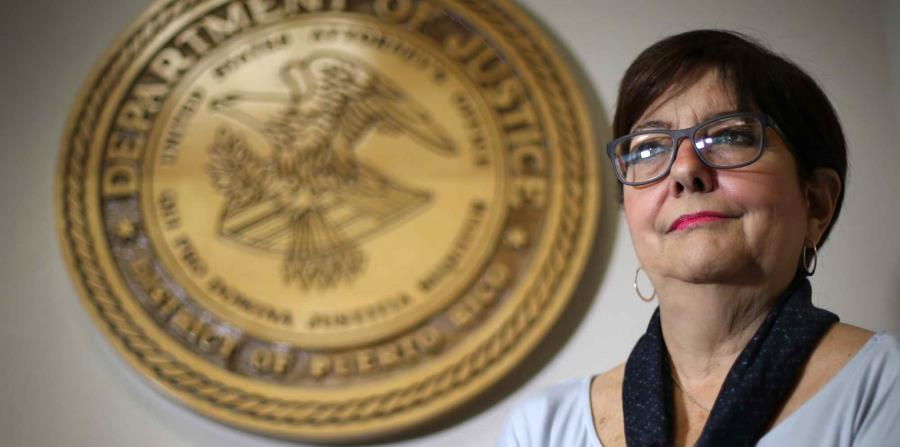 Acting US Attorney for the District of Puerto Rico, Rosa Emilia Rodríguez. (GFR Media) (horizontal-x3)