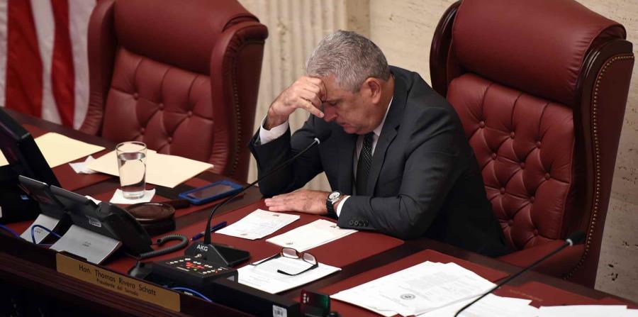 El presidente del Senado, Thomas Rivera Schatz. (GFR Media) (horizontal-x3)