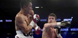 Los golpes de Canelo Álvarez y Gennady Golovkin