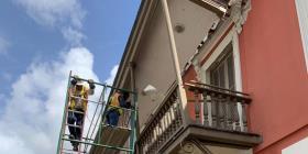 Estabilizan el techo del Museo de la Masacre en Ponce tras daños por terremoto