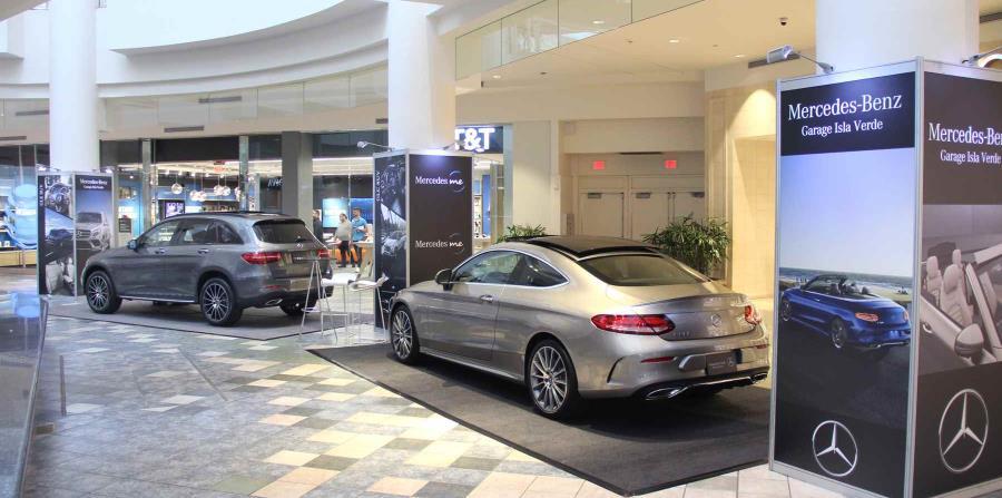 Entre las marcas que verán los asistentes está Mercedes-Benz.