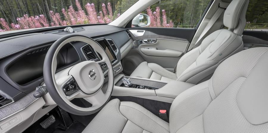El interior del Volvo XC90 es una composición magistral de diseño relajante, hermosos materiales y la última tecnología, todo perfectamente integrado. (Suministrada)