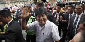 """Evo Morales no descarta regresar a Bolivia """"si el pueblo lo pide"""""""
