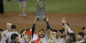 Los Astros se proclaman campeones de la Serie Mundial
