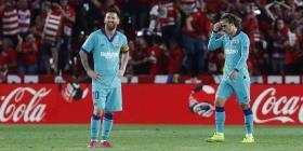 Messi regresa y el Barcelona pierde en su peor inicio de la Liga en 25 años