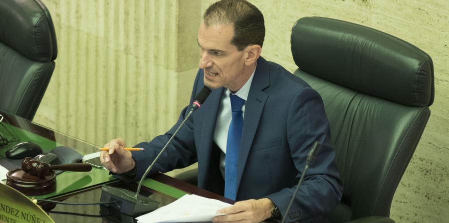 Torres Zamora fue relevado de algunas de sus funciones como vicepresidente de la Cámara de Representantes. (horizontal-x3)