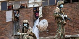 Medidas para contener el coronavirus en África se tornan violentas