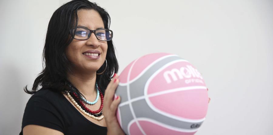 Yanira Liceaga vaticina que más temprano que tarde una mujer será dirigente en le NBA. (GFR Media) (horizontal-x3)
