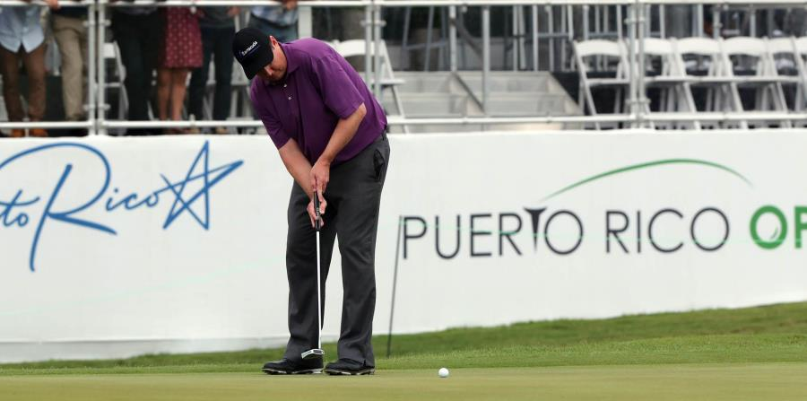 El golfista Rafa Campos está en la pelea en el Puerto Rico Open (horizontal-x3)