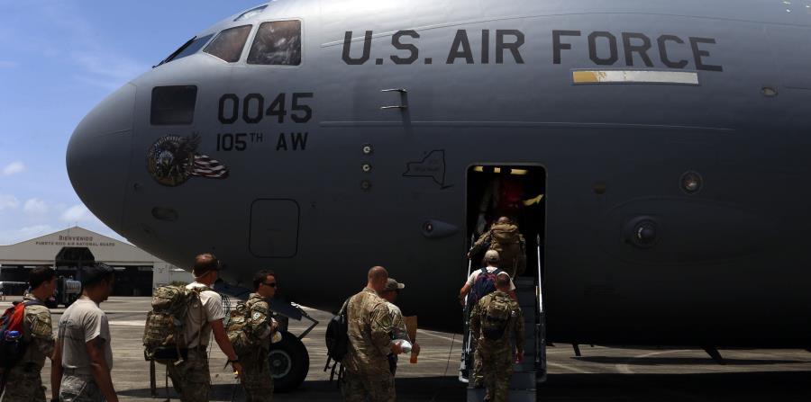 El batallón debe comenzar labores en las Islas Vírgenes americanas a partir de este sábado, informó La Fortaleza. (horizontal-x3)