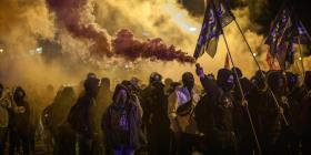 """¿Qué es """"Tsunami Democràtic"""", el grupo que lidera las protestas en Cataluña?"""