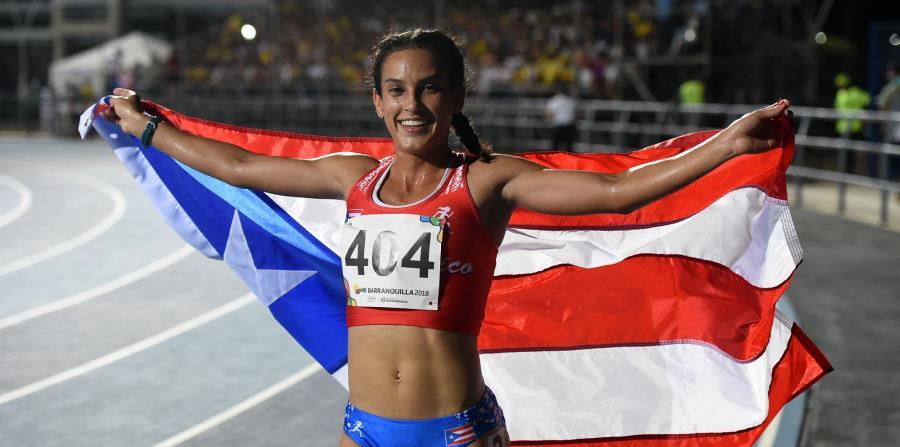 Angelín Figueroa durante su participación en los Juegos Centroamericanos. (GFR Media)