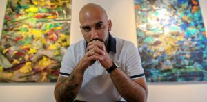 Andrés Tavárez entra al reino de la abstracción