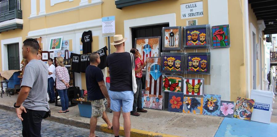 Más artesanos en las Fiestas de la Calle San Sebastián