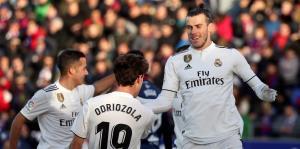 Real Madrid logra sufrida victoria gracias a Bale