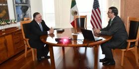 Mike Pompeo reconoce avances de México en contener migración