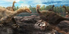 Un estudio confirma que el tiranosaurio era sobreprotector con sus huevos