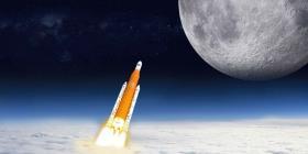 El extraño plan para poner una misión tripulada en la Luna antes que la NASA