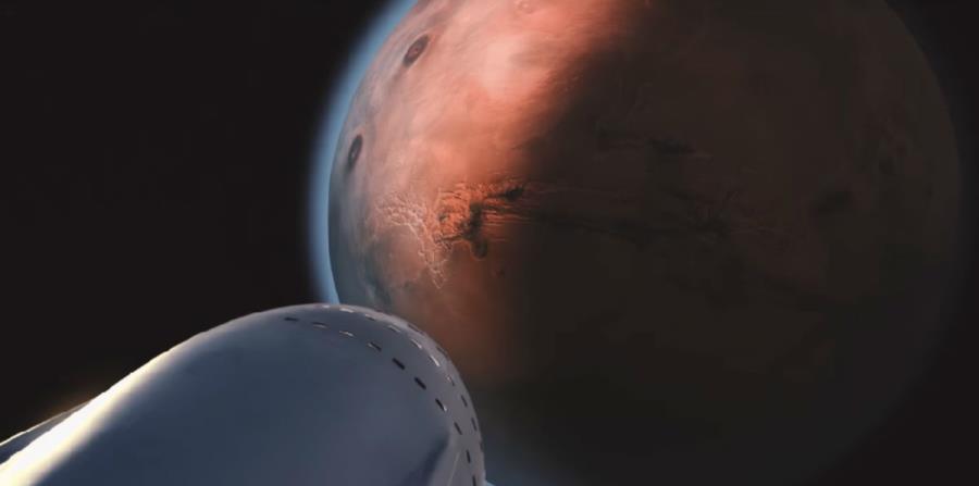 A través de una recreación, la compañía SpaceX presentó cómo serán los primeros viajes de colonización a Marte (horizontal-x3)