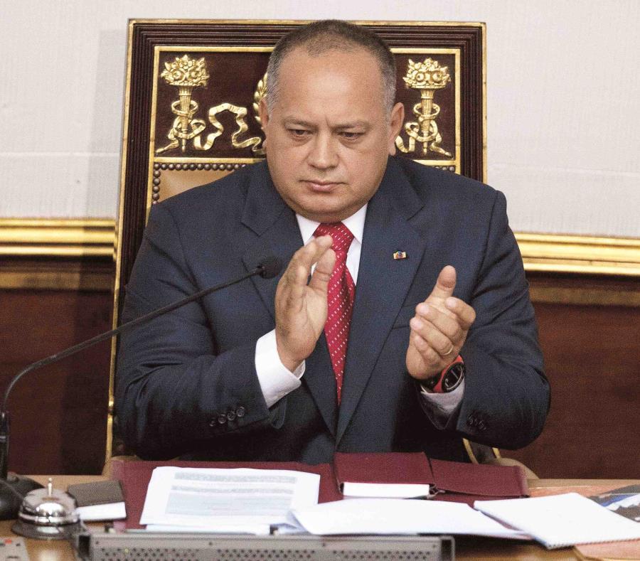 Cabello señaló que la oposición venezolana vive su peor momento, porque está desunida y desorientada. (AP Photo/Ariana Cubillos) (semisquare-x3)