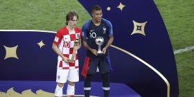 Luka Modric ganó el Balón de Oro al mejor jugador del Mundial
