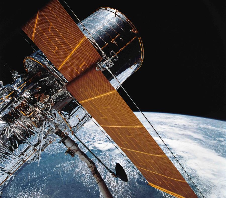 La NASA está reparando el Hubble