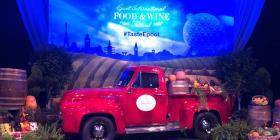 Espectacular celebración a la comida y vinos del mundo en festival de Epcot