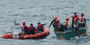 La Patrulla Fronteriza detiene a 15 indocumentados en las costas de Cabo Rojo