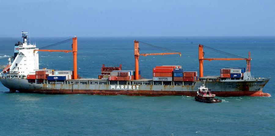 El barco, perteneciente a un armador griego y fletado por una entidad cubana, es operado por una tripulación extranjera. (GFR Media) (horizontal-x3)