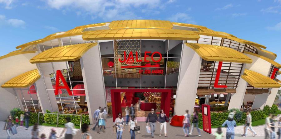 Entrada principal del restaurante Jaleo by José Andrés. (Suministrada)