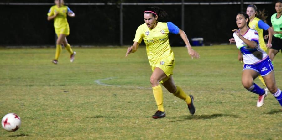 Karina Socarrás es una de las principales figuras del Puerto Rico Sol FC. (Suministrada) (horizontal-x3)