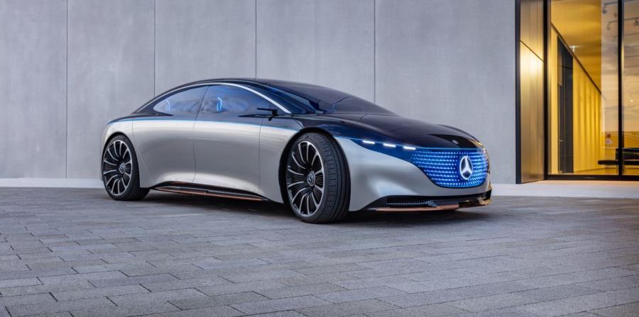 Mercedes-Benz Vision EQS (Suministrrada)