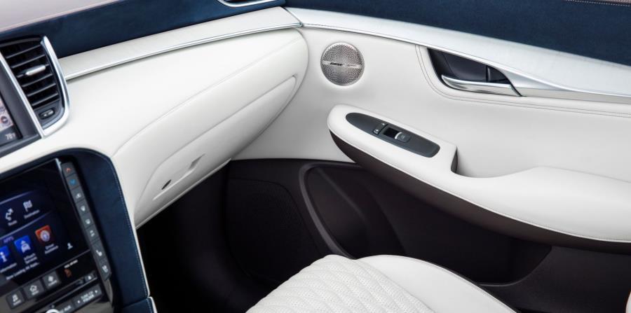 Detalle de la cabina interior del Infiniti QX50. (Suministrada)