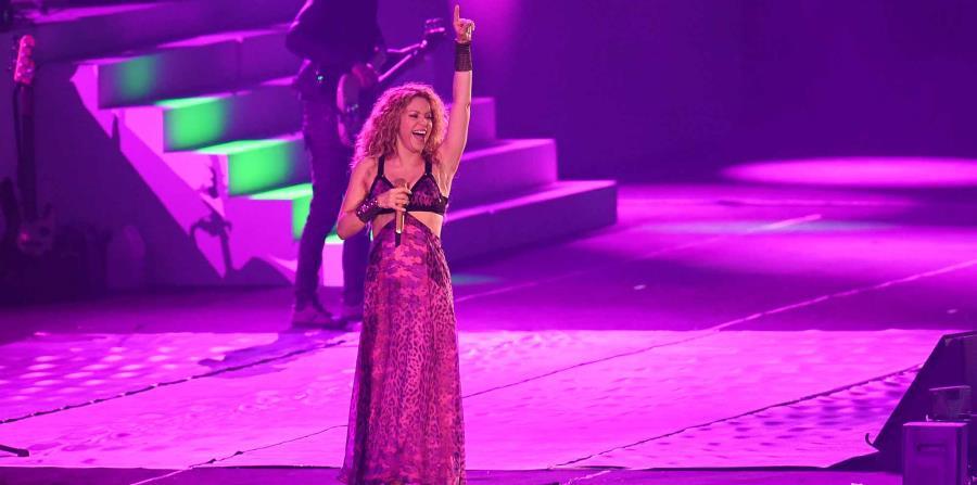 Shakira participó de la inauguración de los Centroamericanos. (horizontal-x3)