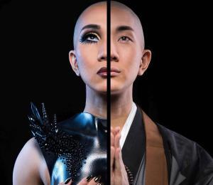 Kodo Nishimura: el monje budista que se expresa a través del maquillaje