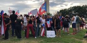 Marchan también en la capital estadounidense en contra de Rosselló