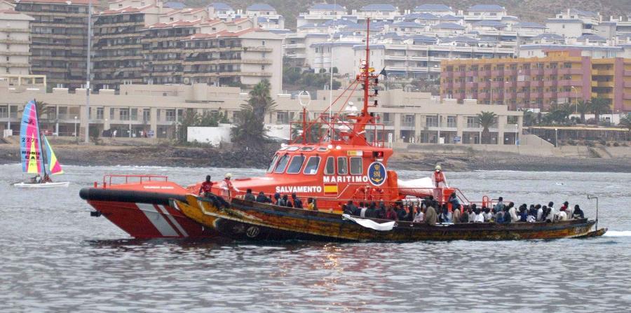 Según la Organización de las Naciones Unidas, al menos 660 migrantes han muerto cruzando el Mediterráneo en lo que va de año. (EFE / Manuel Lérida) (horizontal-x3)