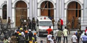 Reportan una nueva explosión al tratar de desactivar una bomba cerca de una iglesia de Sri Lanka
