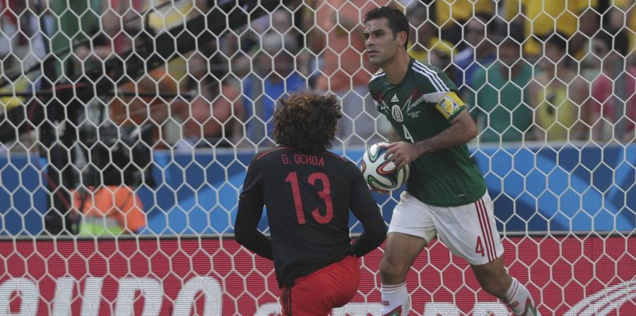 Márquez fue convocado como internacional por primera vez en 1997. (AP) (horizontal-x3)