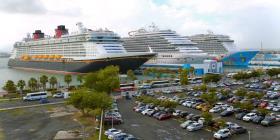 San Juan recibe a cuatro cruceros con más de 18,000 turistas