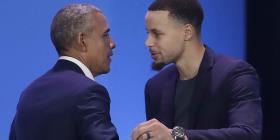 Obama y Curry llaman a los niños de minorías a hacer del mundo un lugar mejor