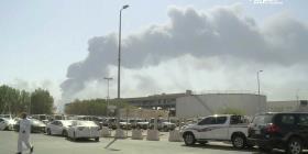 La mayor petrolera del mundo opera al 50% por un ataque hutí en Arabia Saudí