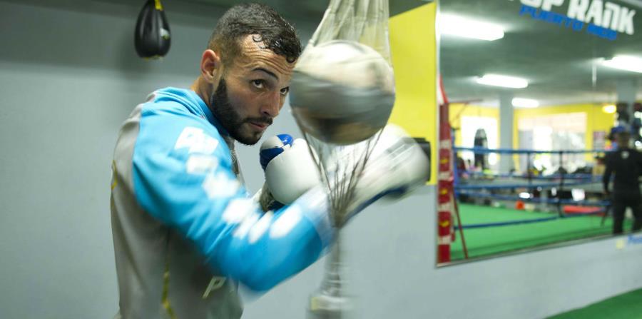 Pitufo Díaz está entrenando en Los Ángeles. (GFR Media) (horizontal-x3)