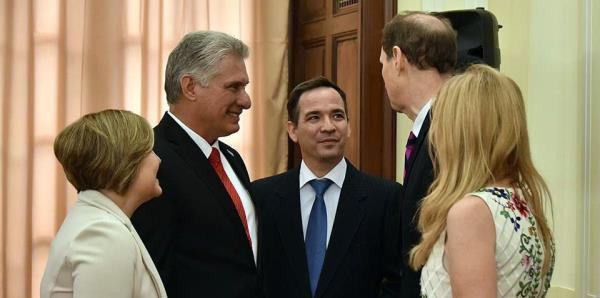 El presidente de Cuba sostuvo reuniones con congresistas de EE.UU.
