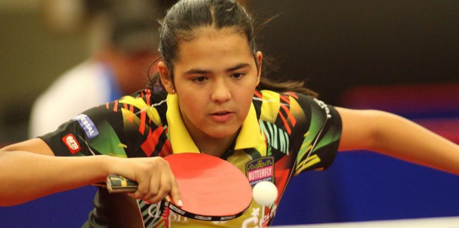 Adriana Díaz cayó en semifinales ante Choi Hyojoo. (Imagen tomada de ITTF) (horizontal-x3)